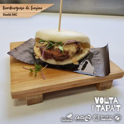 Hamburguesa de Tonyina (Sushi MC) - de dijous a diumenge